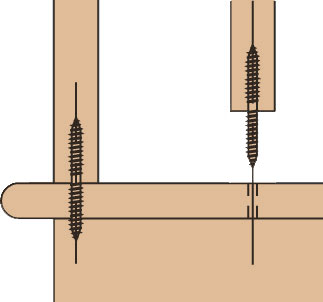 Double Threaded Baluster Screws