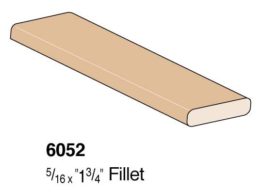 """1-3/4"""" Flat Fillet"""