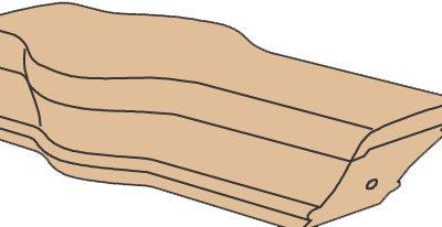 TTandem Cap Wood Stair Fitting