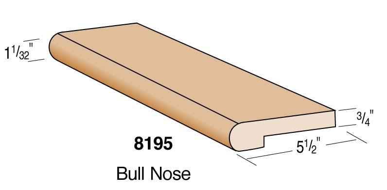 "5-1/2"" Bullnose Moulding"