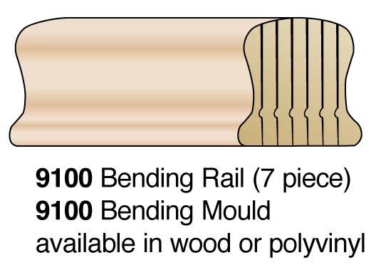 """2"""" 7-Pc Bending Handrail"""