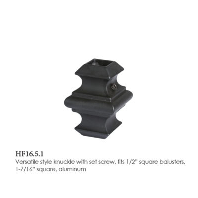 Square Opening Adjustable Knuckle